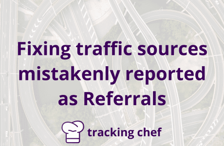 Fixing traffic sources mistakenly reported as referrals